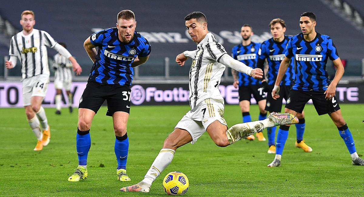 Juventus igualó sin goles en casa ante Inter. Foto: EFE