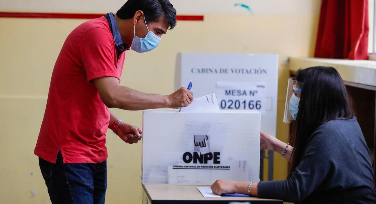 Elecciones 2021 tendrán protocolos sanitarios. Foto: Andina Renato Pajuelo