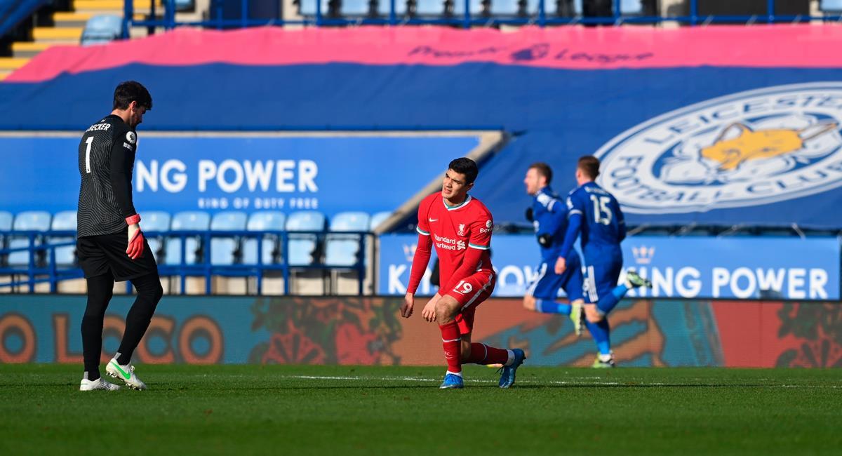 Liverpool cayó por tercera vez consecutiva en la Premier. Foto: EFE