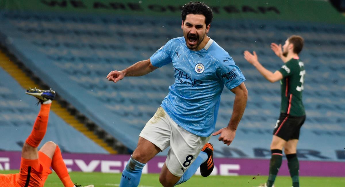 Gündogan fue autor de un 'doblete' en Manchester City. Foto: EFE