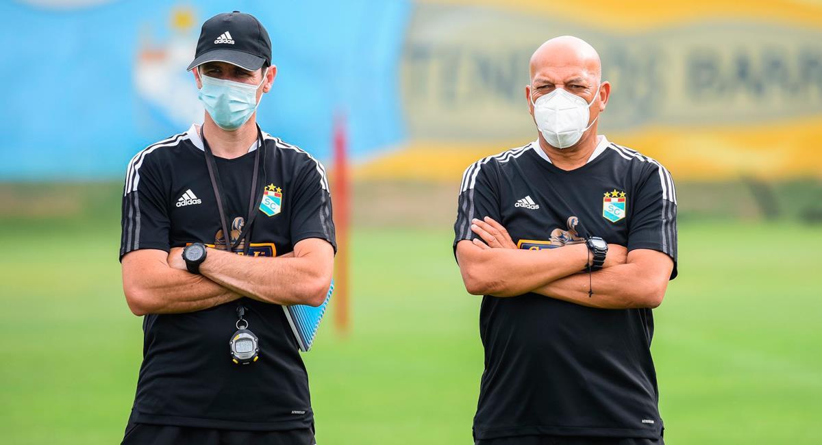 Roberto Mosquera quiere cambiar la historia del club en Libertadores. Foto: Twitter @ClubSCristal