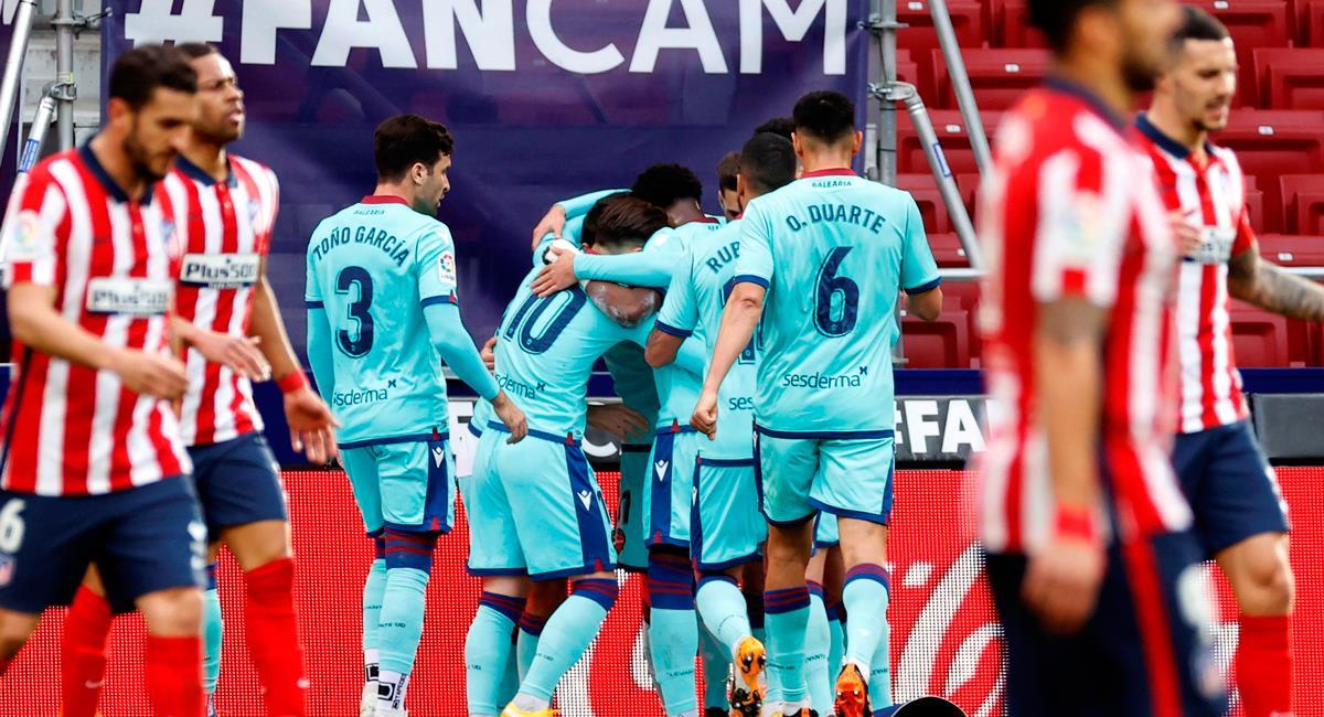 Atlético Madrid cayó en casa este fin de semana. Foto: EFE