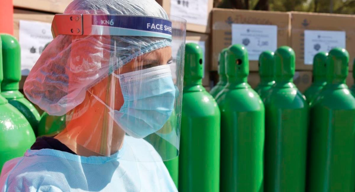 Cerca de 40 toneladas de oxígeno llegan este fin de semana. Foto: Andina