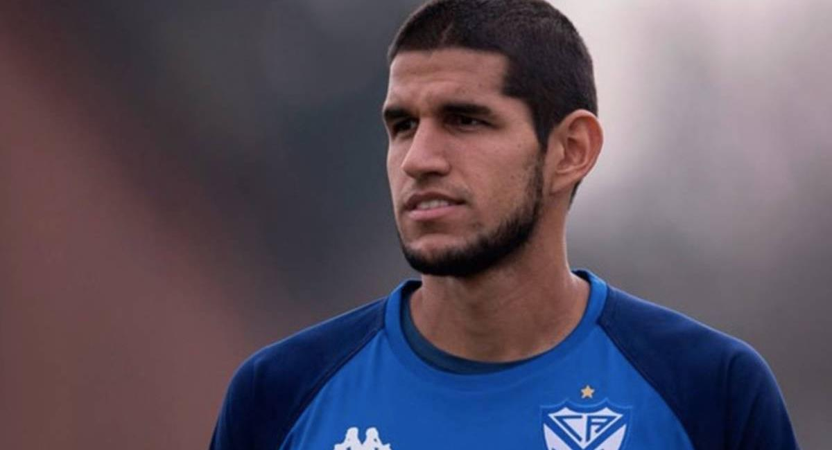 Luis Abram decidirá su renovación con Vélez Sarsfield. Foto: Twitter Difusión