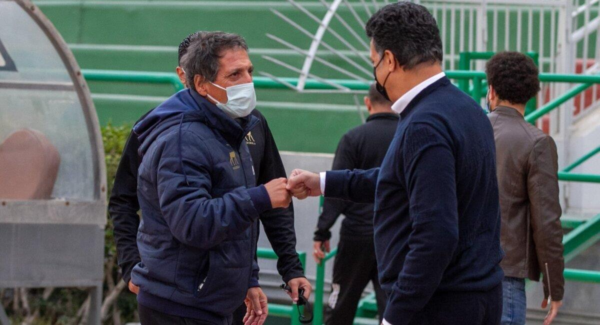 Mario Salas vive un momento complicado en Egipto. Foto: Twitter Wadi Degla