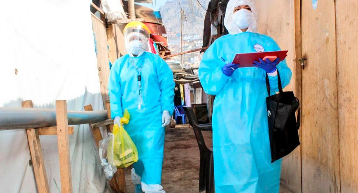 Casos de contagios COVID-19 para este  lunes 22 de febrero. Foto: Twitter @Minsa_Peru