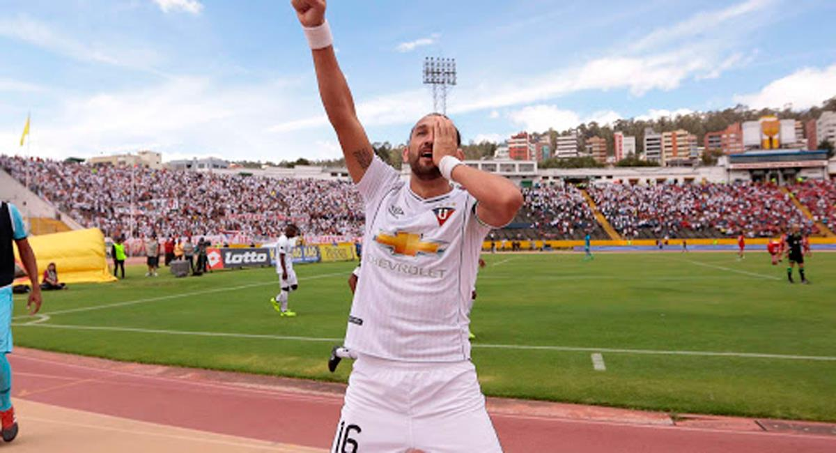 Hernán Barcos quiere que sus goles lleven a Alianza Lima a primera. Foto: Twitter Difusión