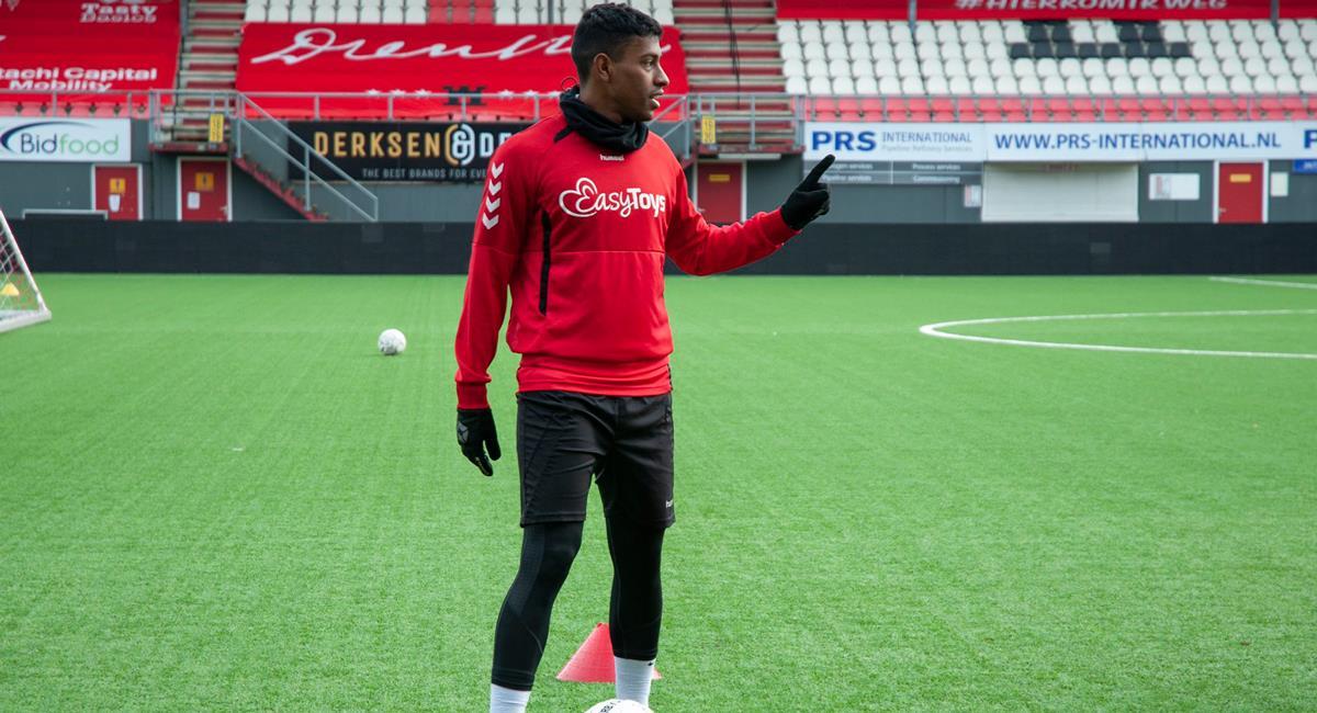 Miguel Araujo podría cambiar de equipo en la Eredivisie. Foto: Twitter @FC_Emmen