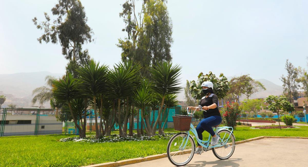 Paseo en bicicletas queda prohibido los domingos. Foto: Andina