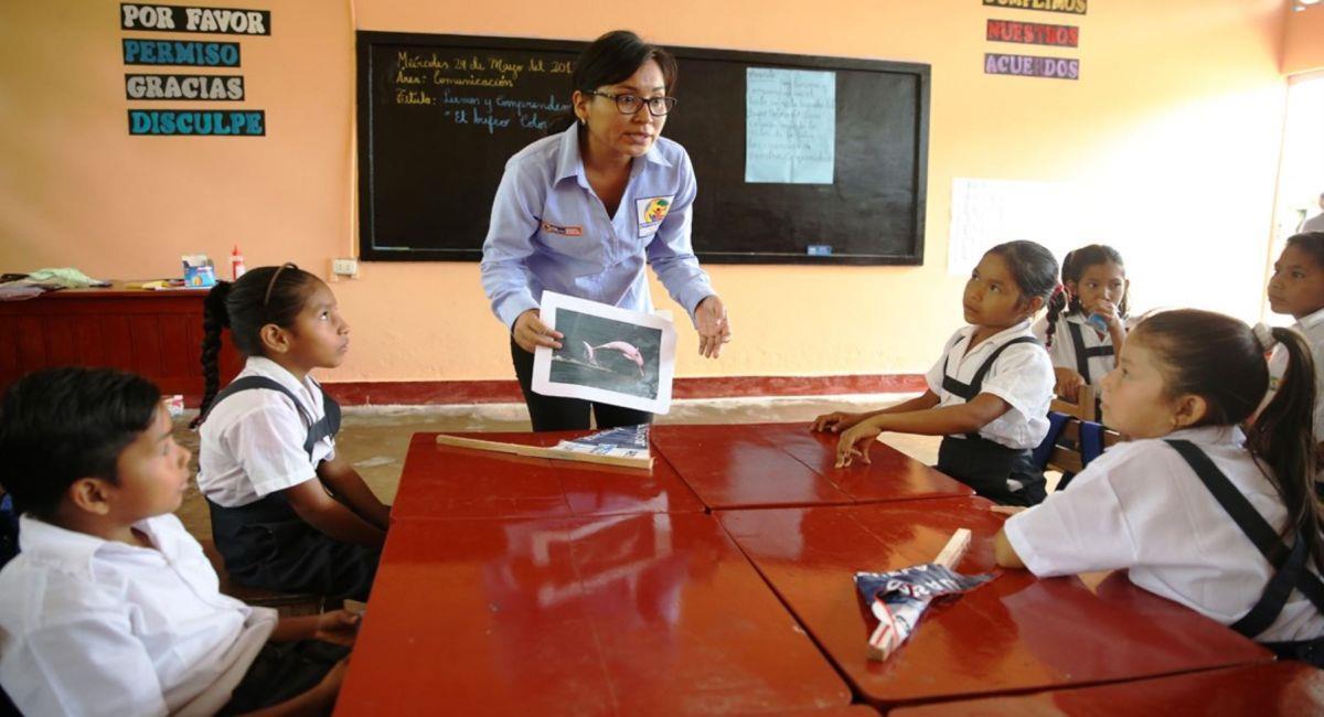Minedu espera el regreso de las clases presenciales. Foto: Andina