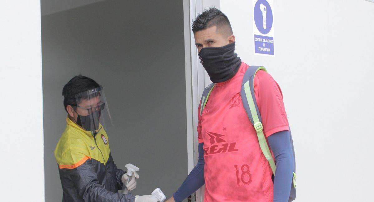 Othoniel Arce es el hombre gol de Ayacucho FC. Foto: Facebook Club Ayacucho FC