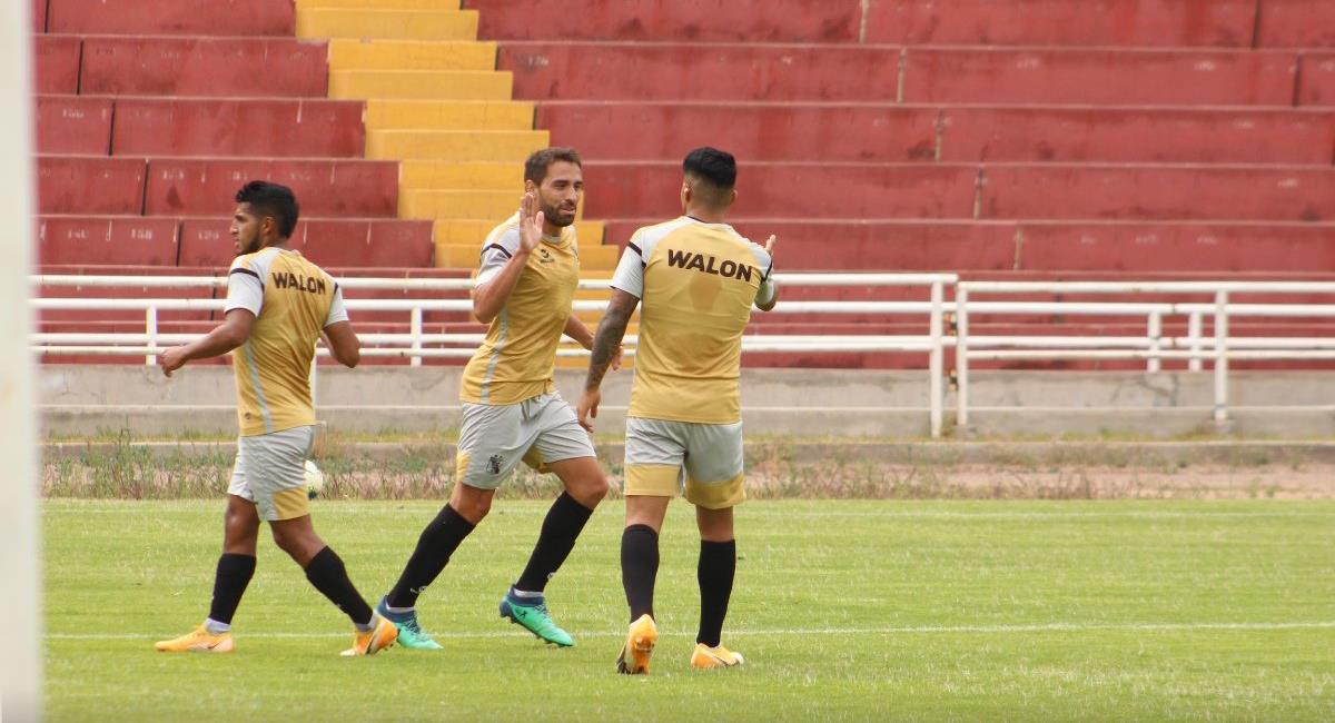 Melgar se impuso a Binacional en Estadio la UNSA. Foto: Twitter @MelgarOficial
