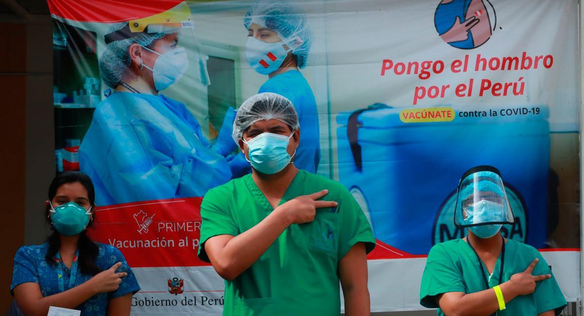 Segunda dosis de vacunación inició este martes 2 de marzo. Foto: Andina Carla Patiño Ramírez