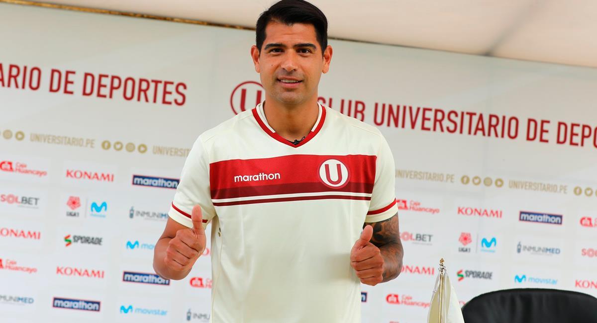 Enzo Gutiérrez será el '9' de Universitario esta temporada. Foto: Twitter @Universitario