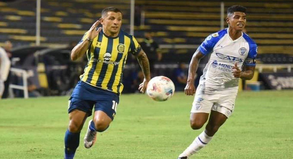 Wilder Cartagena volvió a jugar con Godoy Cruz. Foto: Twitter