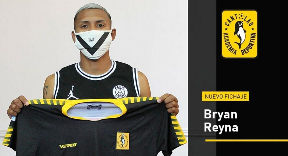Bryan Reyna es el flamante refuerzo de Cantolao. Foto: Twitter Academia Cantolao