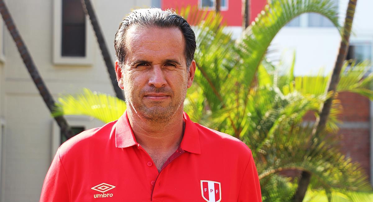 Carlos Silvestri dejó de ser DT de la Sub 20. Foto: Prensa FPF