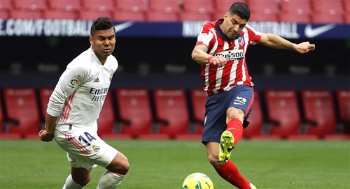 Atlético Madrid vs Real Madrid EN VIVO por LaLiga Santander de España