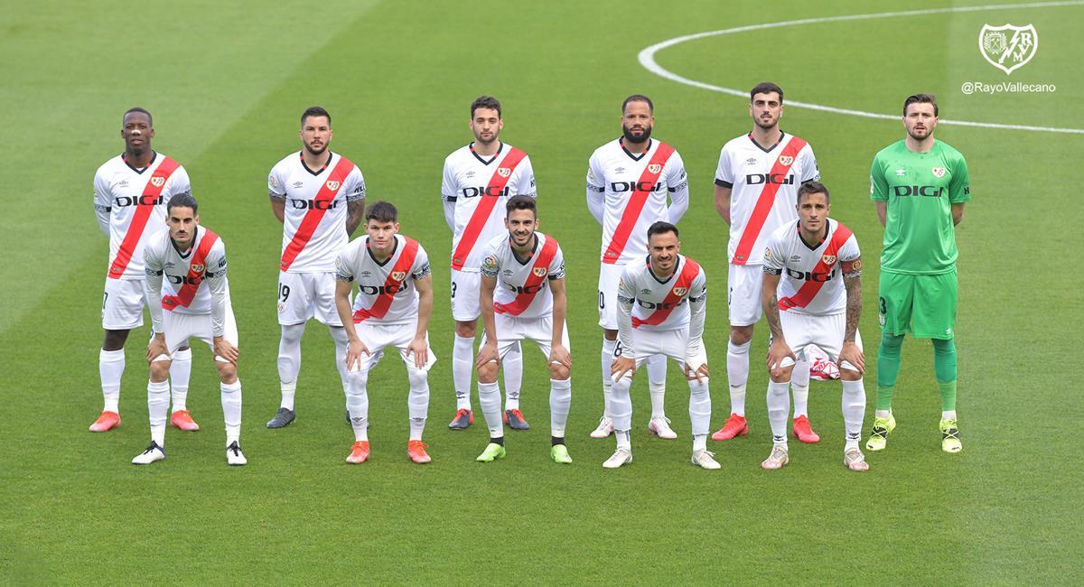 Rayo Vallecano sacó empate en su visita a Las Palmas. Foto: Twitter @RayoVallecano