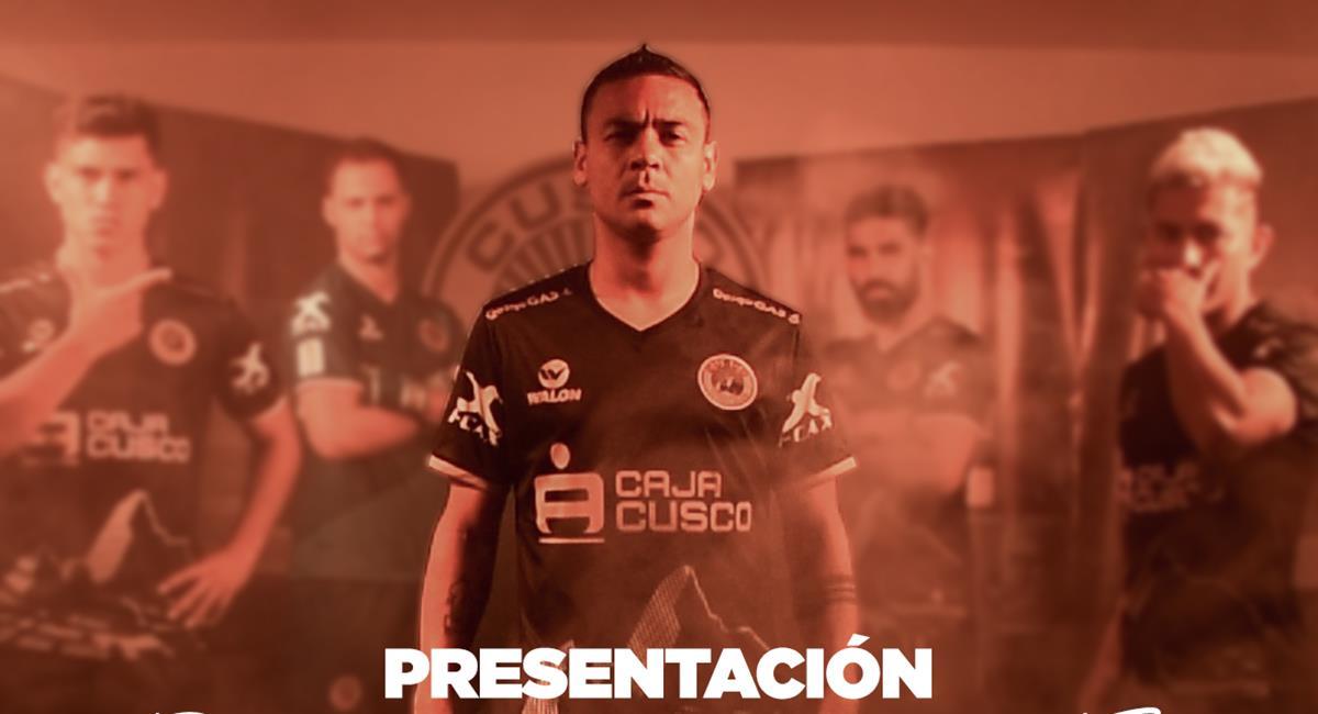 Plantel 2021 de Cusco FC. Foto: Facebook Cusco FC