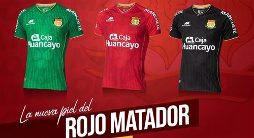 Liga 1: Sport Huancayo presentó su camiseta para este 2021