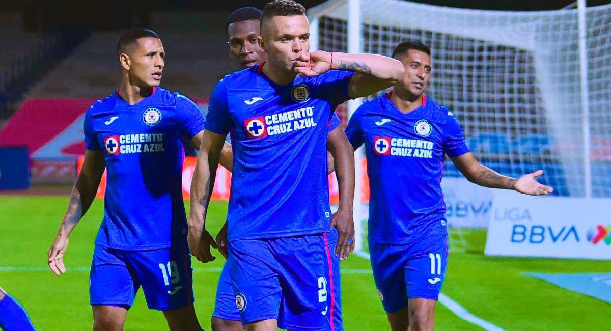 Jonathan Rodríguez marcó el único gol del partido sobre los 93 minutos. Foto: Twitter Difusión