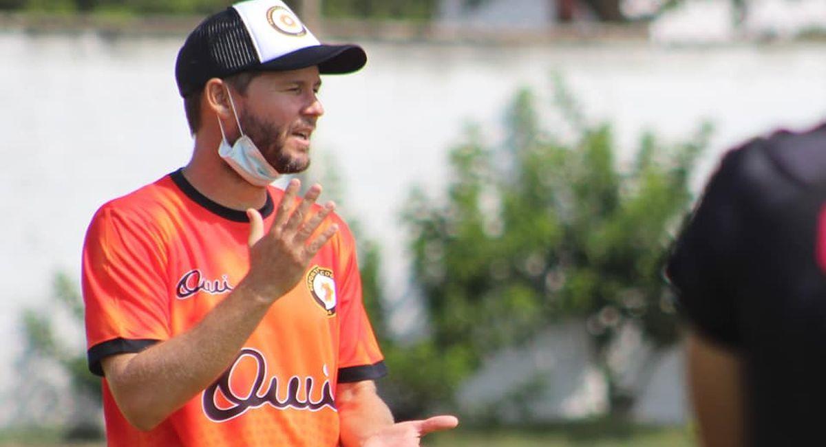 Manuel Barreto es el entrenador del Club Deportivo Coopsol. Foto: Facebook Club Deportivo Coopsol