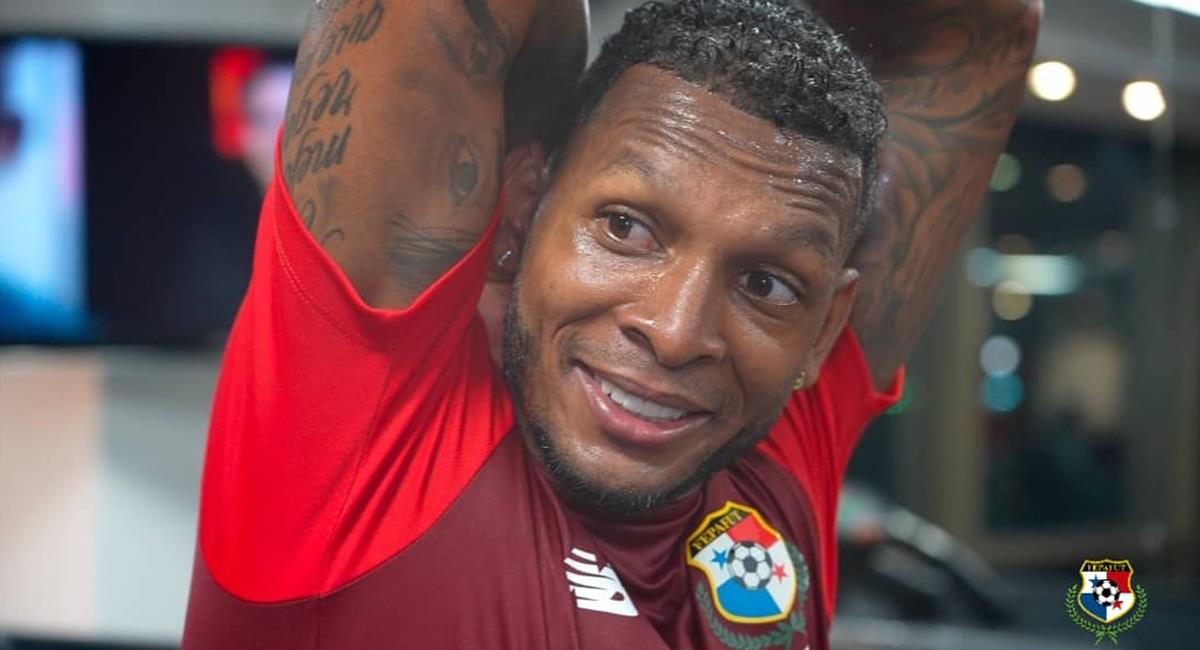 Alberto Quintero había sido convocado por Panamá. Foto: Twitter @fepafut