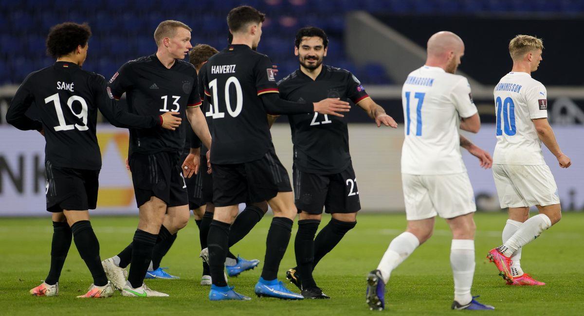 Alemania se ilusiona con Qatar 2022. Foto: EFE