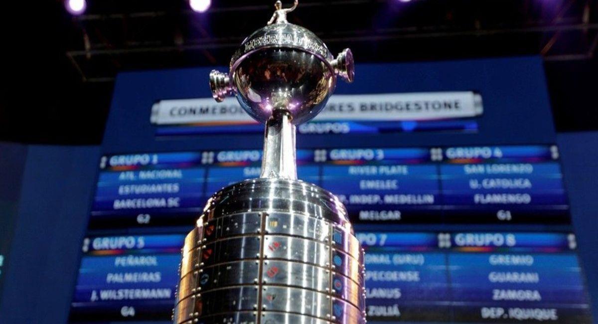 Se acerca el sorteo de la fase de grupos de la Copa Libertadores. Foto: Twitter