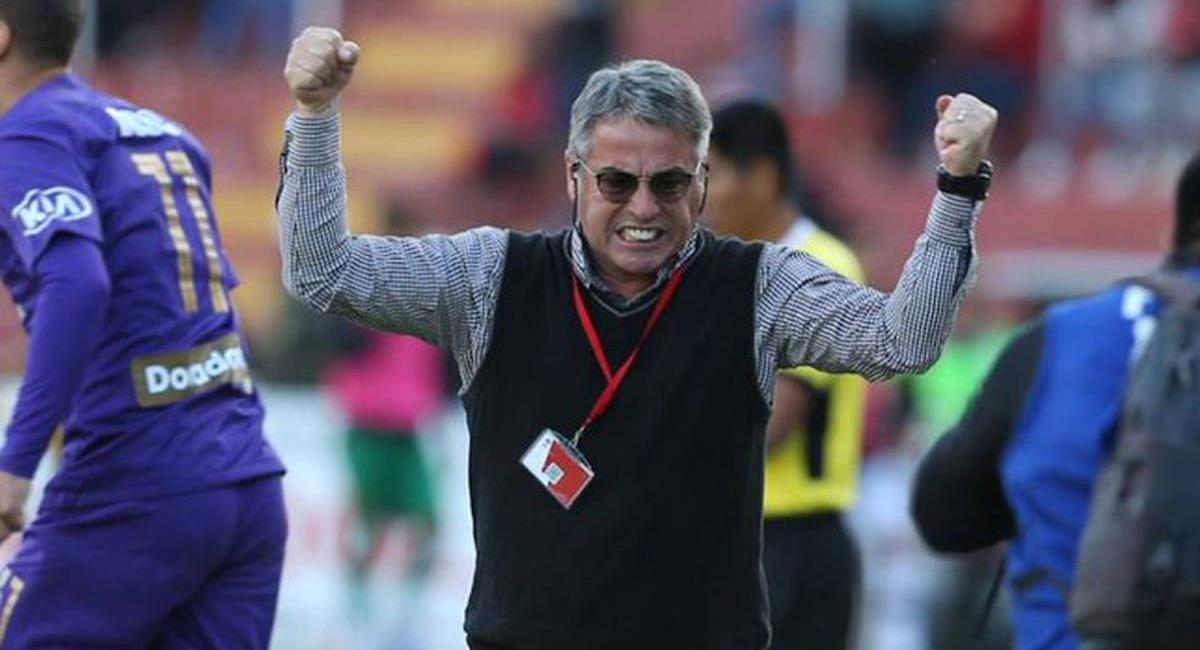 Pablo Bengoechea mostró su felicidad por vuelta de Alianza a la Liga 1. Foto: Twitter Difusión