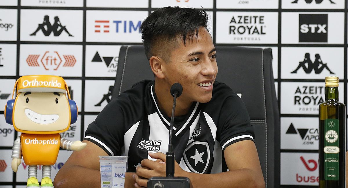 Lecaros no pudo consolidarse en Botafogo. Foto: Prensa Botafogo