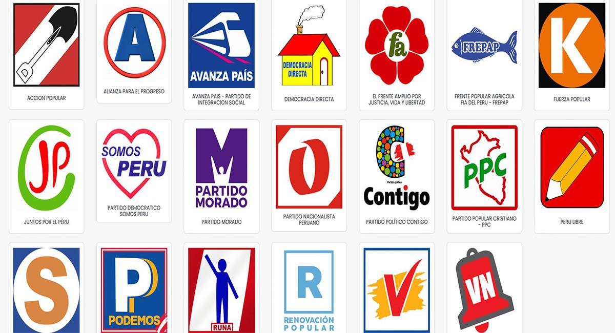 Lista de postulantes al Congreso y Parlamento Andino. Foto: Andina