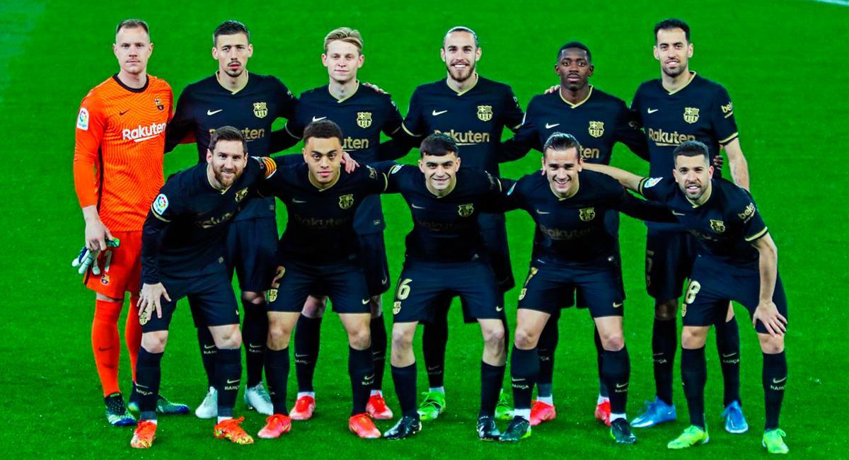 Barcelona recibe a Valladolid por LaLiga. Foto: Twitter @FCBarcelona_es