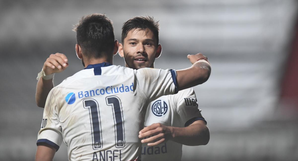 San Lorenzo recibe a Santos por la Libertadores. Foto: Twitter San Lorenzo