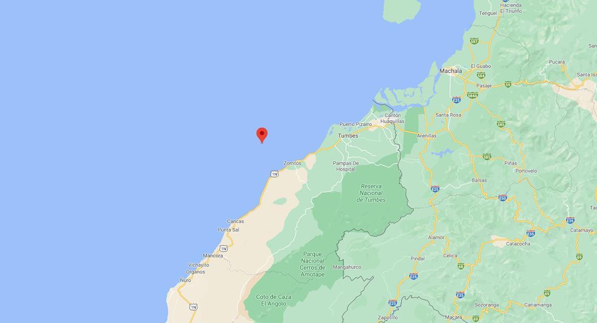 Temblor hoy en Tumbes: sismo de 4.3 se registró en Contralmirante Villar la mañana del 5 de abril