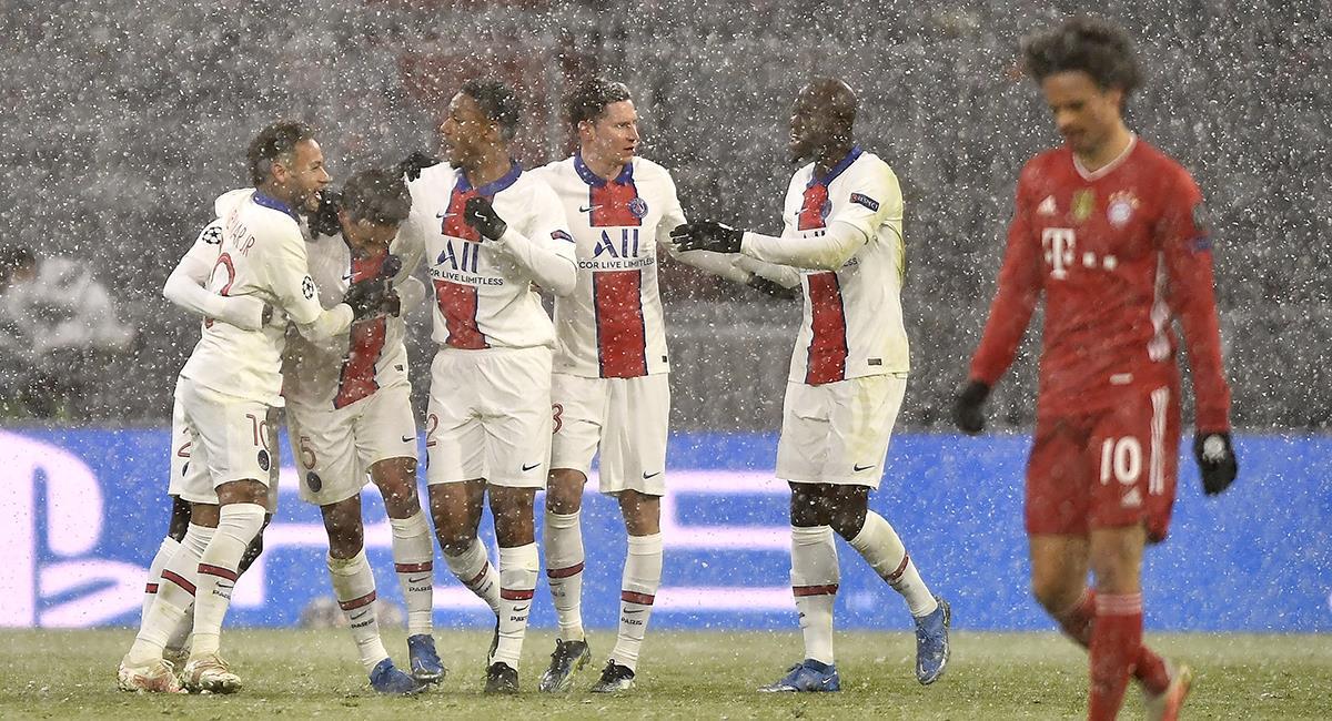 PSG dio el golpe en el Allianz Arena. Foto: EFE