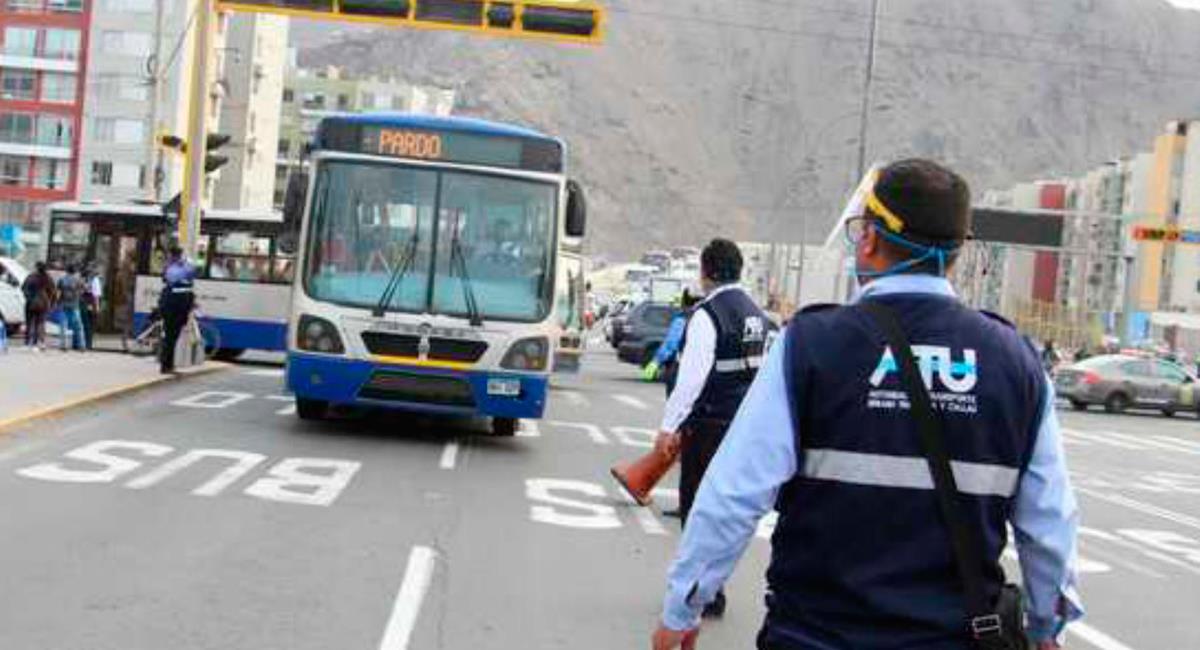 Horarios de transporte público se modifica en elecciones. Foto: Andina