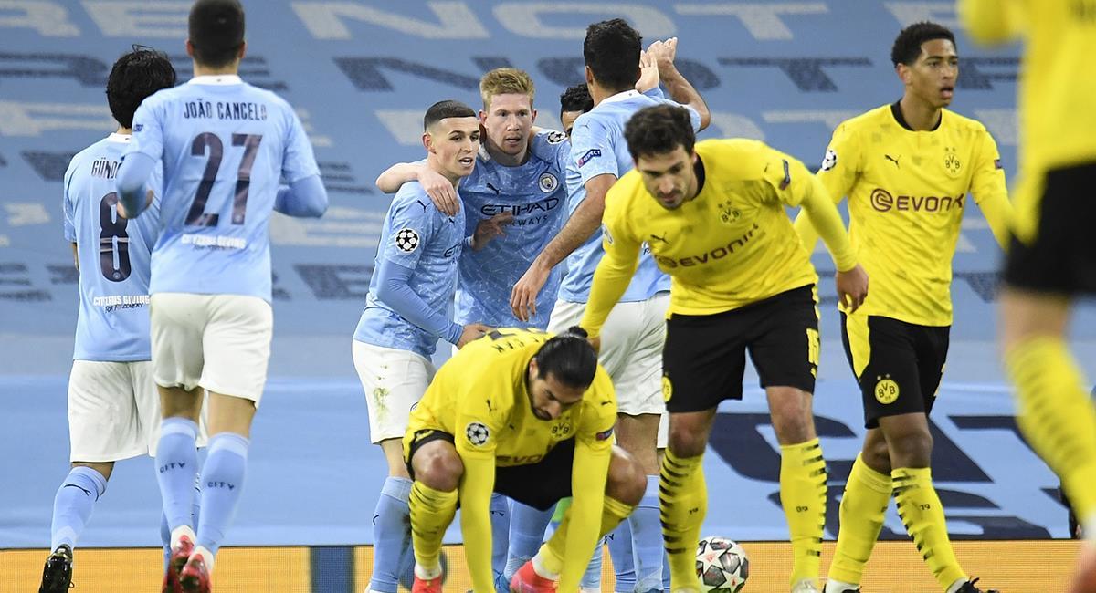 Manchester City logró un triunfo en casa. Foto: EFE