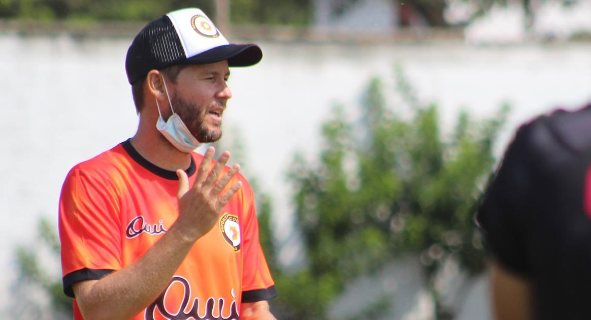 Barreto dirige a Coopsol para la Liga 2. Foto: Twitter Coopsol