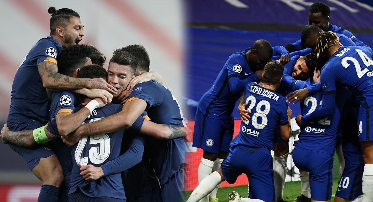 Porto y Chelsea quieren hacer historia. Foto: Twitter Porto / Chelsea