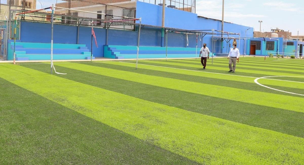 Complejos deportivos serán sede de votación en Chimbote. Foto: Andina