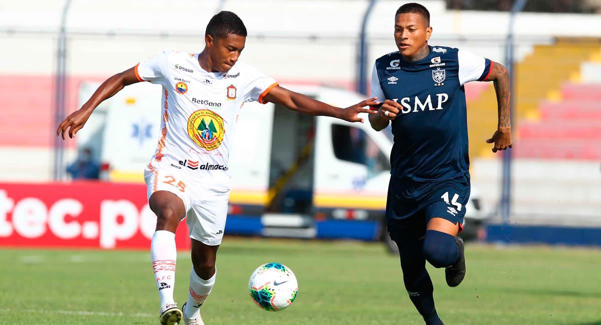 Ayacucho FC igualó 2-2 con San Martín. Foto: Twitter @LigaFutProf