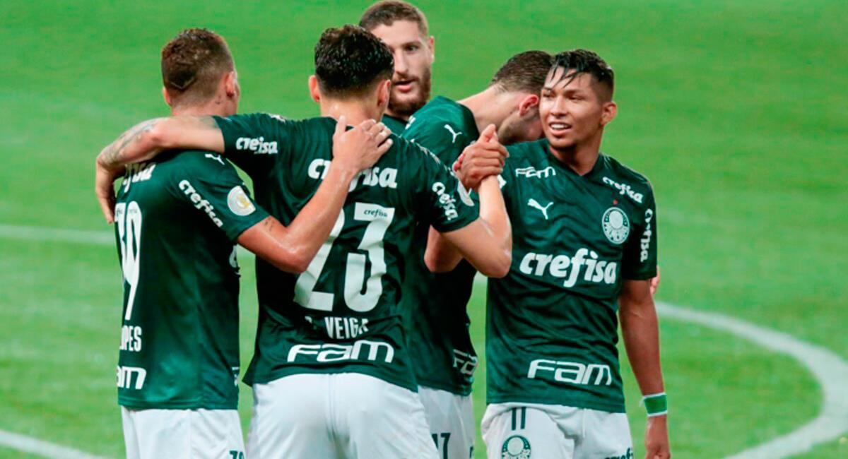 Palmeiras quiere sacar ventaja en la ida de Recopa Sudamericana. Foto: Twitter Difusión