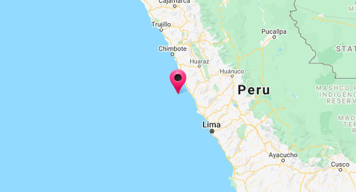 Temblor de 4-4 magnitud sacudió Barranca, Lima. Foto: Twitter @DHN_peru