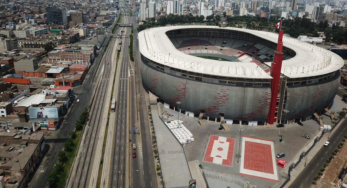 Estadio Nacional será sede de votación. Foto: Andina
