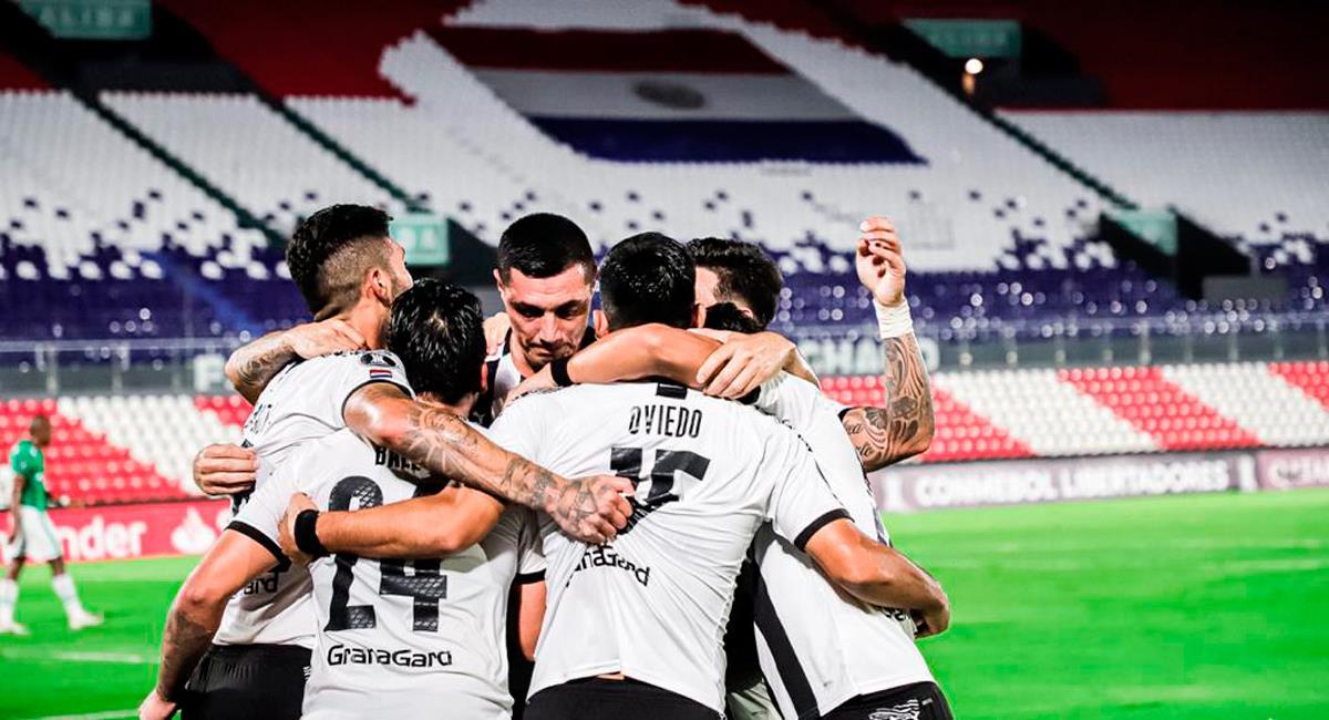 Javier Báez marcó el único gol del encuentro. Foto: Twitter @Libertad_Guma