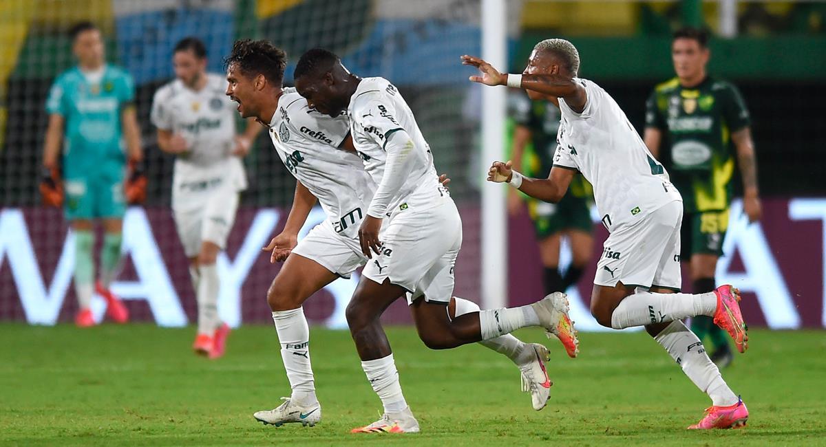Palmeiras logró un marcador positivo en la ida de Recopa Sudamericana. Foto: EFE