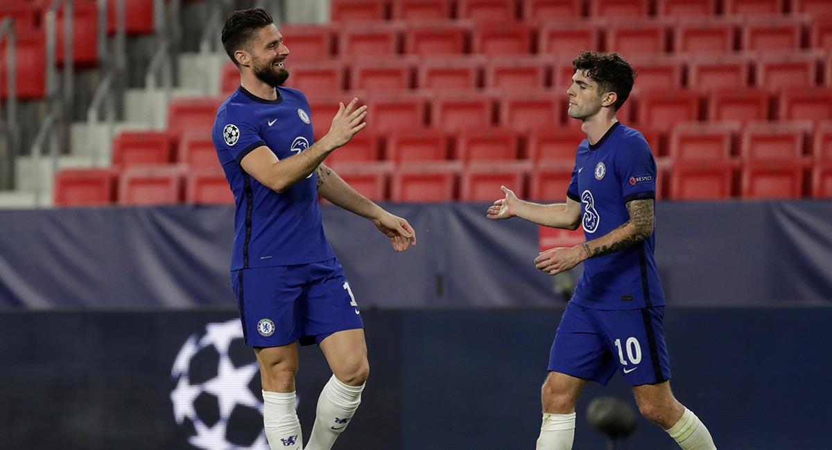 Chelsea celebra su pase a semifinales. Foto: EFE