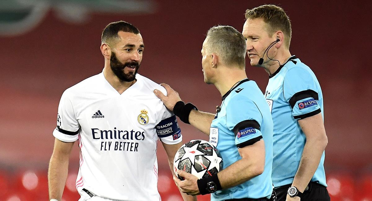 Real Madrid a semifinales de Champions League. Foto: EFE